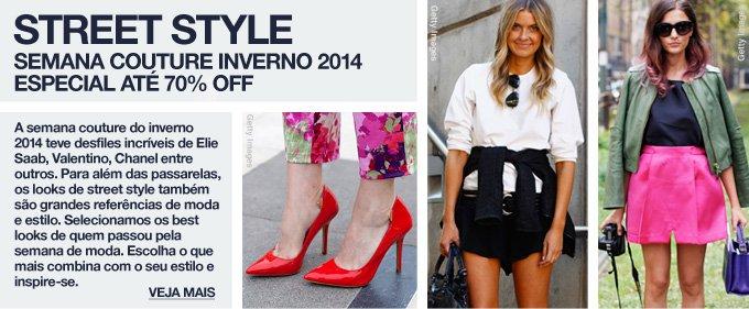 Street Style - Especial até 70% OFF!