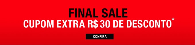 Final Sale. Confira!