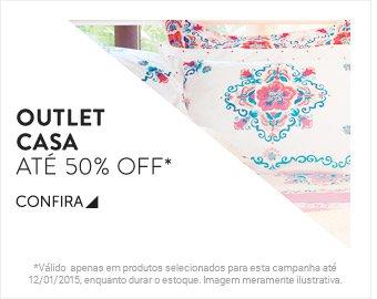 Outlet Casa até 50% OFF - Confira!
