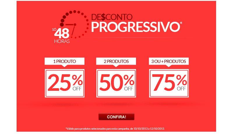 ad148d2204d Promoção Dafiti  Ultimas 24 horas  Desconto progressivo